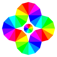 Twisted 12 Color Wheel Eye
