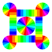 Streaming Cycles of Color