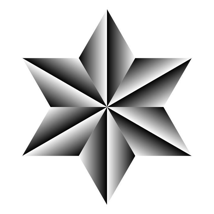 Metal Hexagram by 10binary