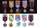 Pony Military Medals Set 2