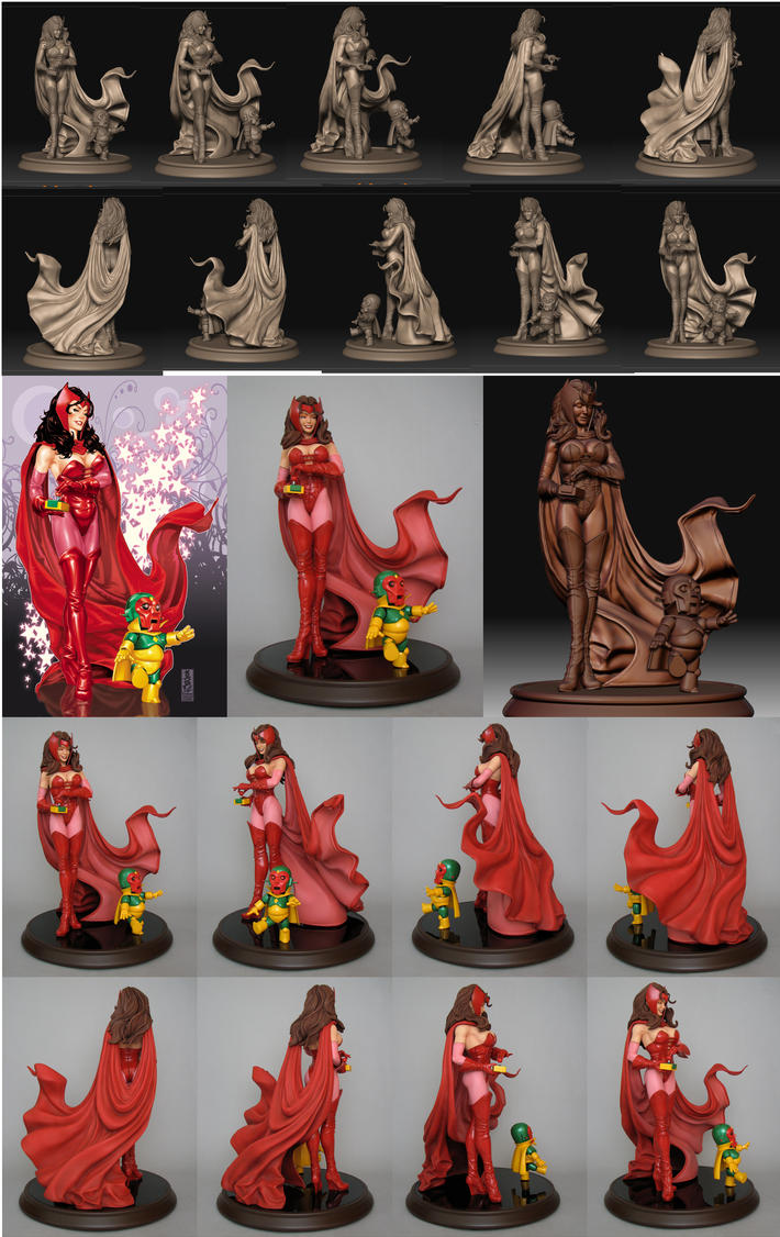 "IRON-MAN ""extremis"" Scarlet_Witch_Compilation_by_poboyross"