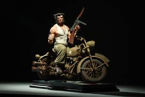 WWII Logan: Front View Darkly by poboyross