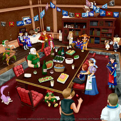 Skies of Arcadia: After show party