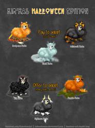 Kim'ra Halloween Adoptables [Open! 1/6]