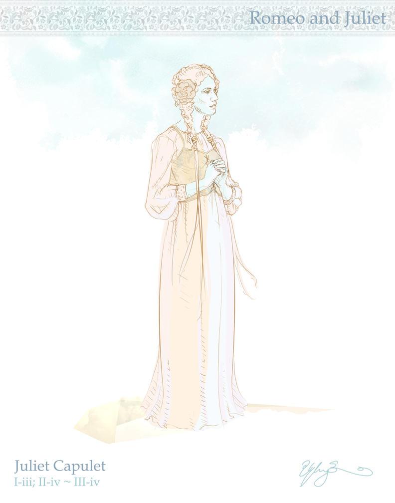 Juliet by GwynConawayArt