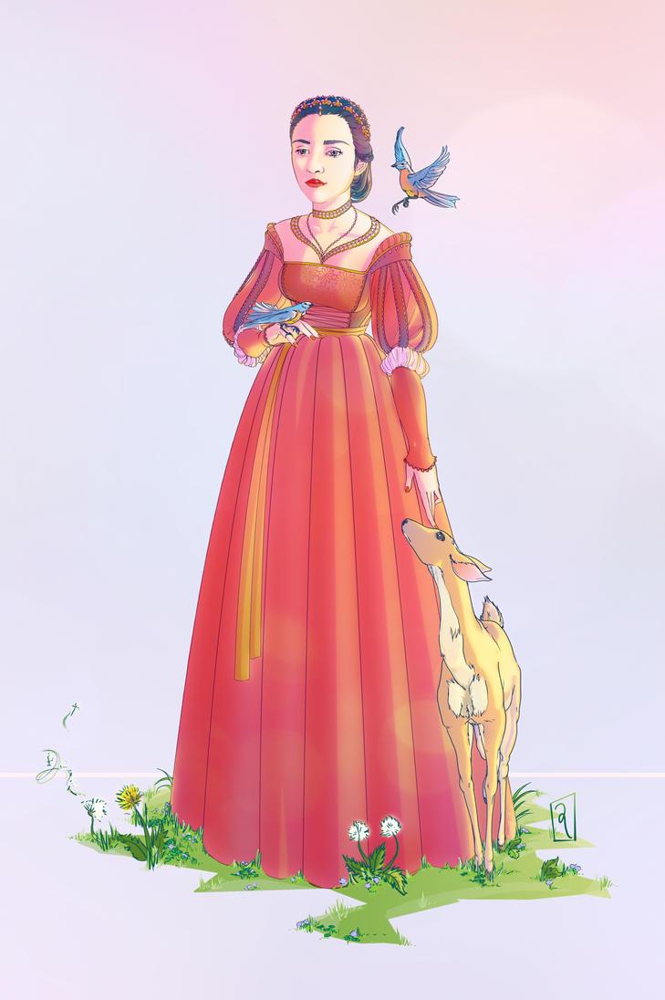 Snow White by GwynConaway