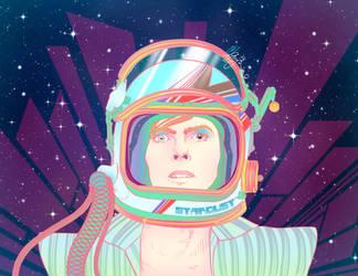 Rebels: David Bowie by GwynConawayArt