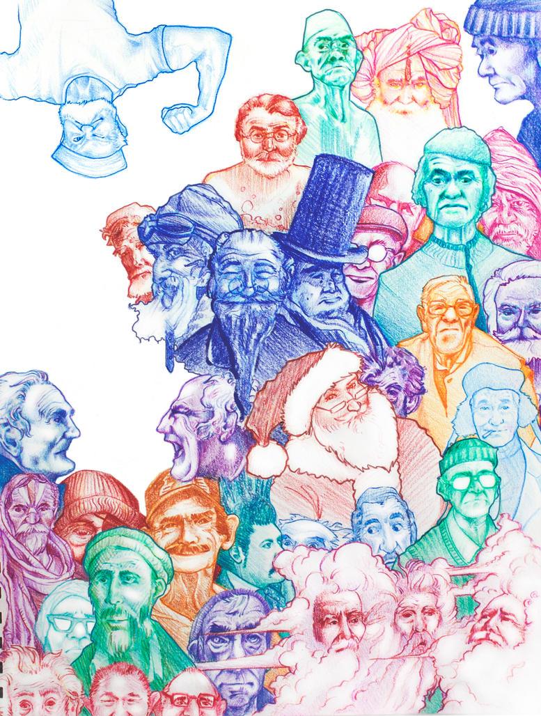 Sketchbook 29 by GwynConawayArt