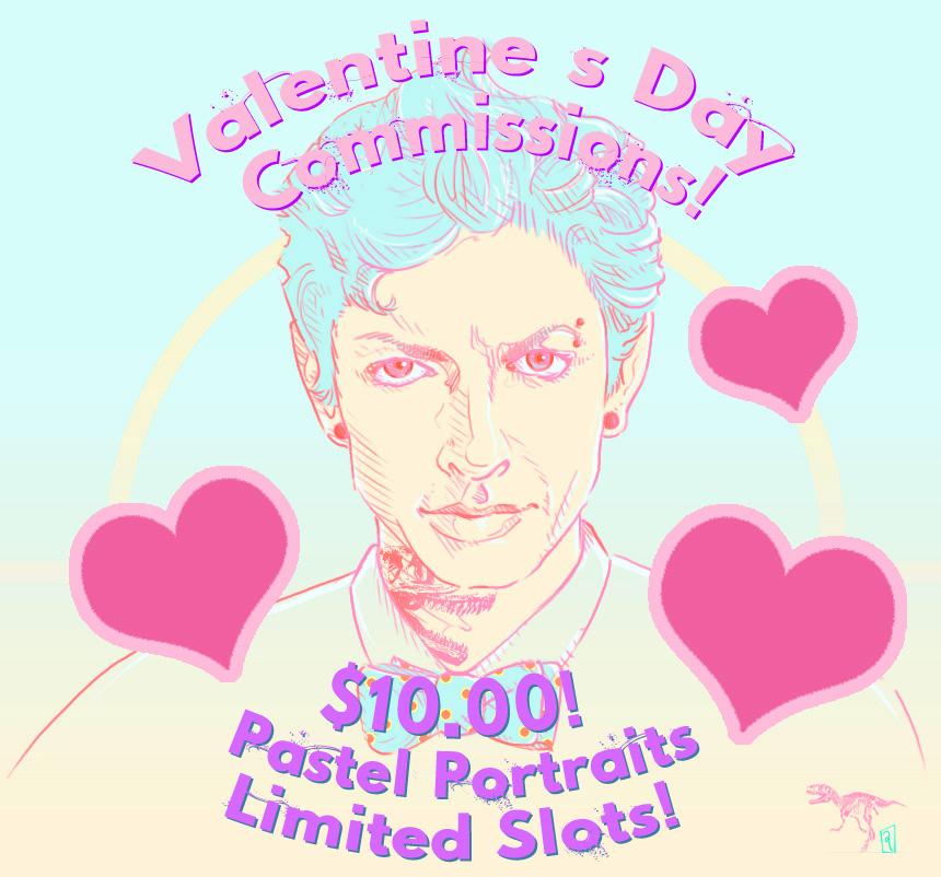 Vday Flash Commissions by GwynConawayArt