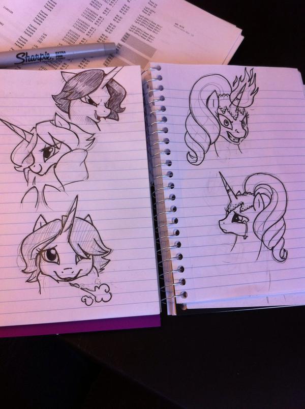 Regina Scrap Doodles by MMMenagerie