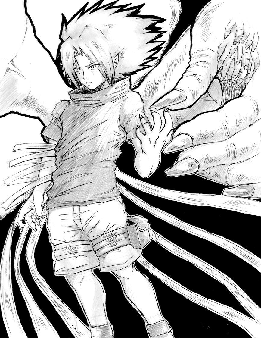 Youkai sasuke by ichitaka27 on deviantart - Sasuke uchiwa demon ...