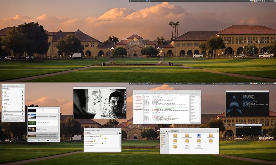 My Desktop II -  August 2010 by hundone