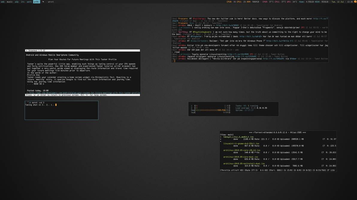 My Desktop - July 2011