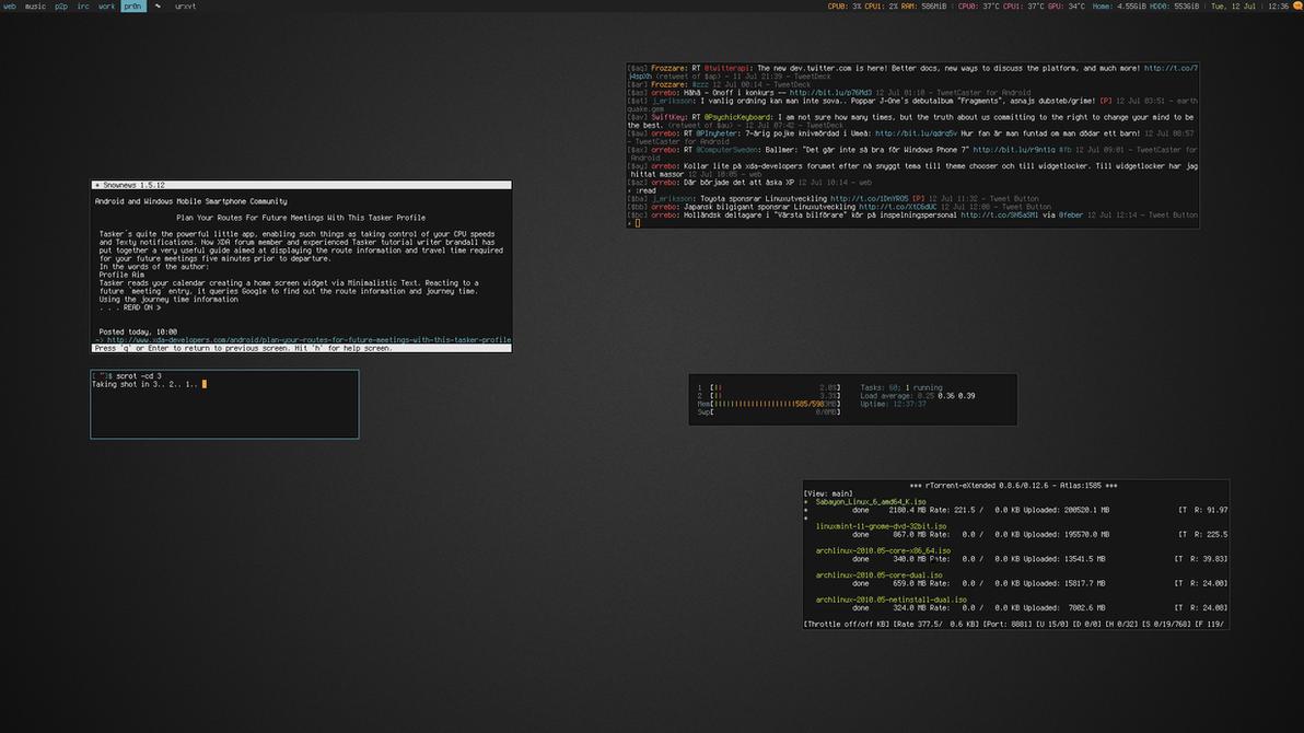 My Desktop - July 2011 by hundone