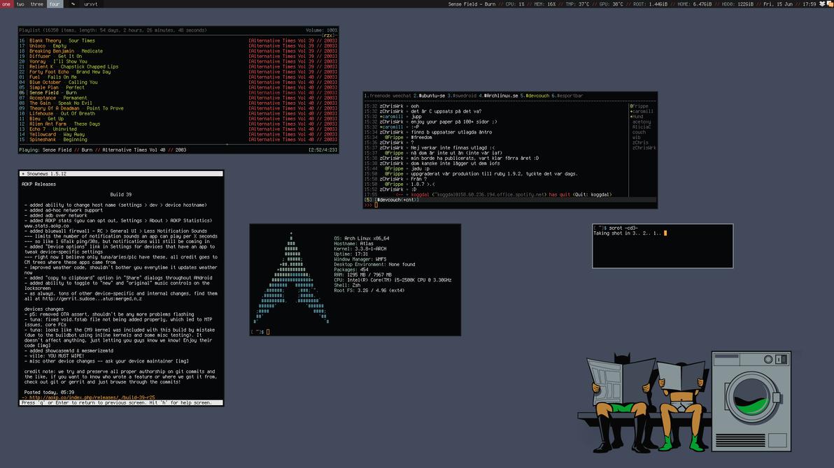 My Desktop II - June 2012 by hundone
