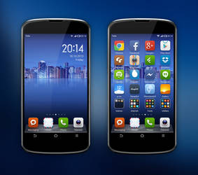 My Android II - MIUI 4   October 2013 by hundone