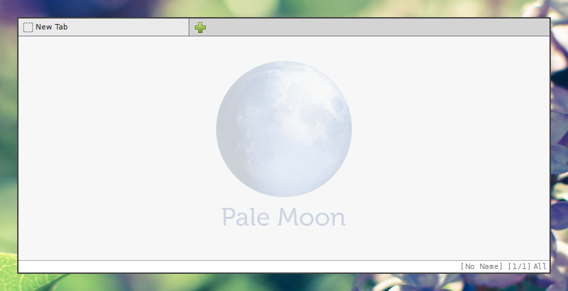 Minimal Pale Moon with Stylish