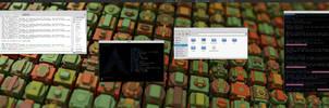 My Desktop - Arch Linux w/ Xfce   January 2015