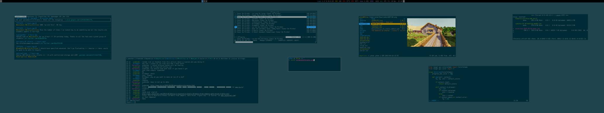 My Desktop - April 2015 by hundone