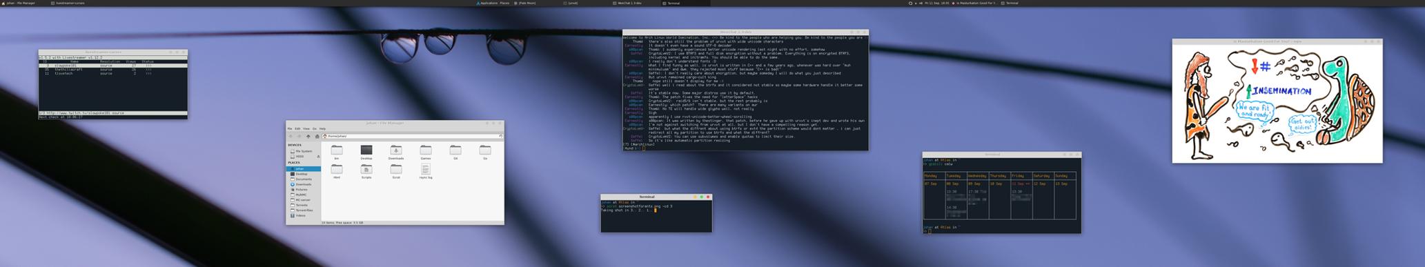 My Desktop - September 2015 by hundone
