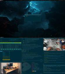 My Desktop - April 2017 by hundone