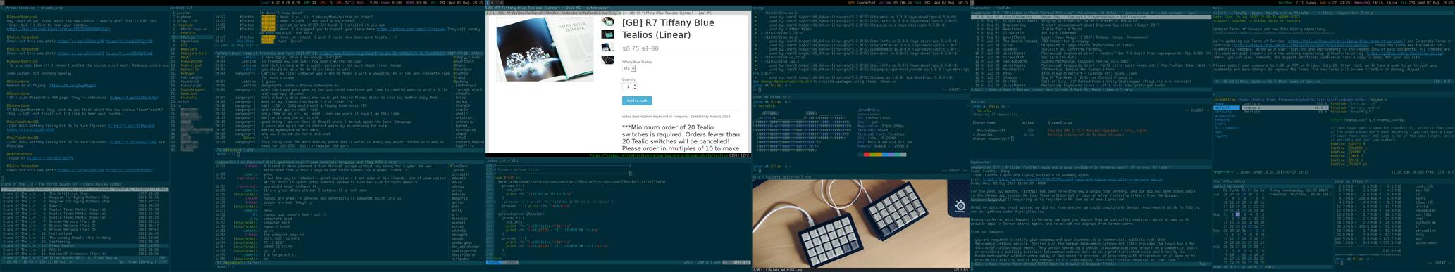 My Desktop - August 2017 by hundone