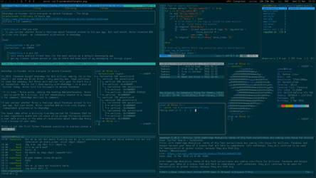 My Desktop - Mars 2018 by hundone