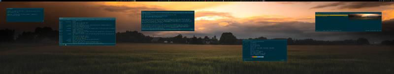 My Desktop - Mars 2019 by hundone