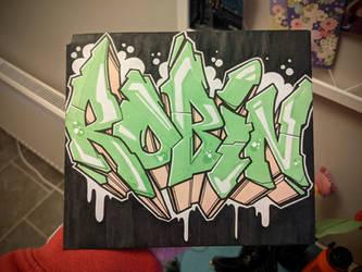 Graffiti Sketch - 210328