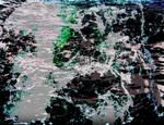 Churning Water Background 4