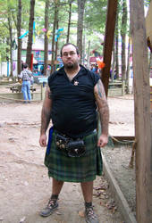 Man In Kilt Stock 3