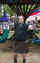 Big Man In Kilt 2 Stock2