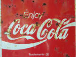 old coke sign stock