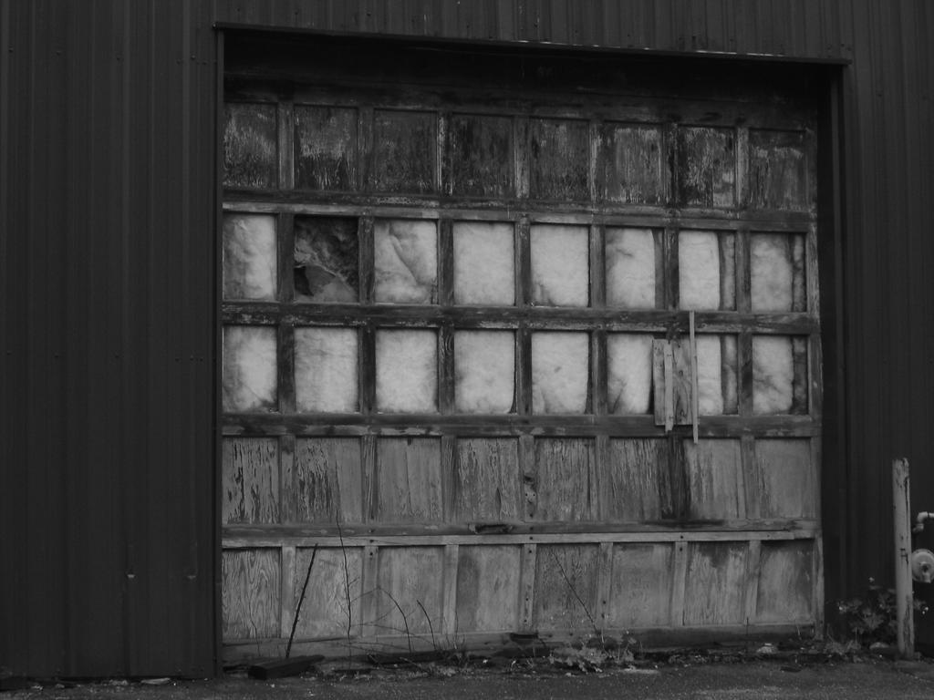 old garage door stock