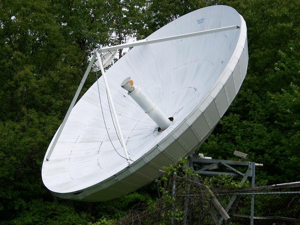 Broadcast dish stock