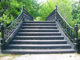black steps stock by WKJ-Stock