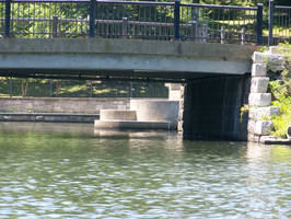 bridge and water stock by WKJ-Stock