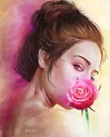 Secret smile by ArthurHenri