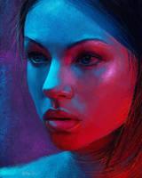 Neon Study by ArthurHenri