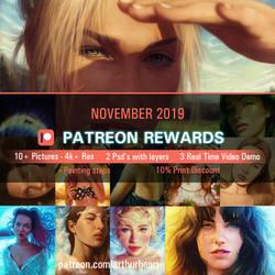 Patreon November Rewards