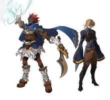 Hero ganondorf and sheikah link