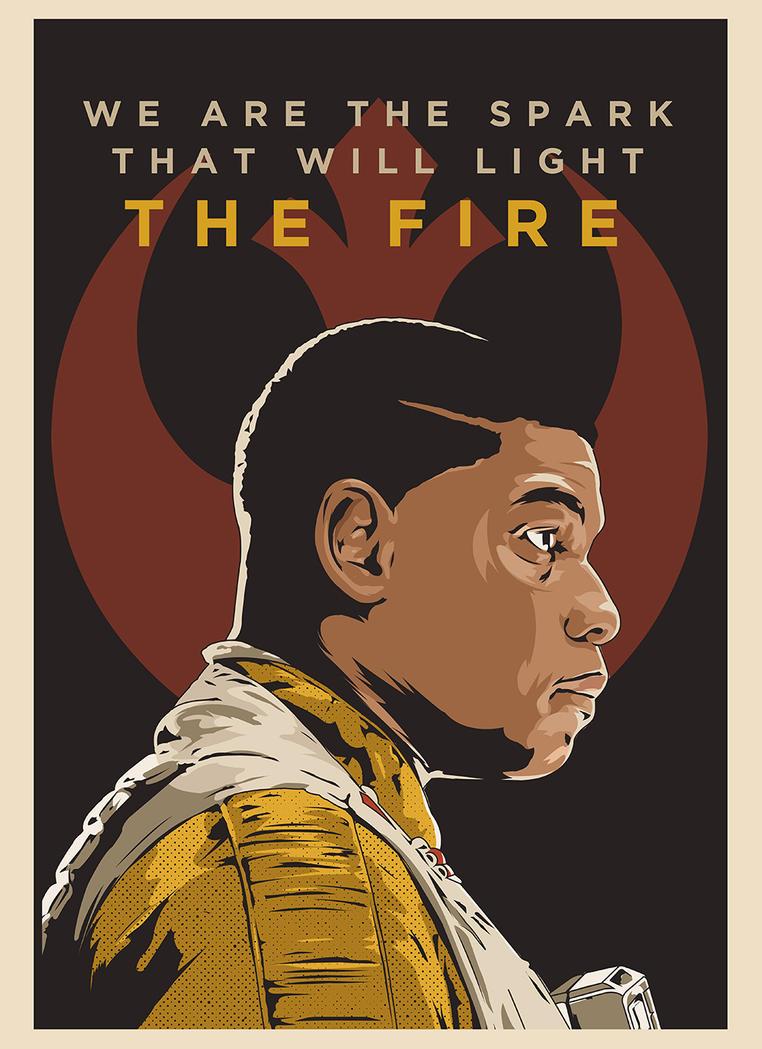 Finn: The Last Jedi Portrait by SuperScoundrel