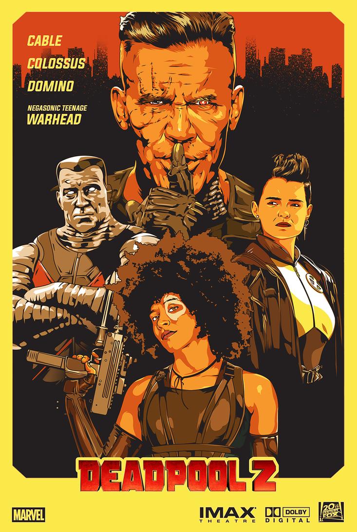 Deadpool 2: Alternative Poster by SuperScoundrel