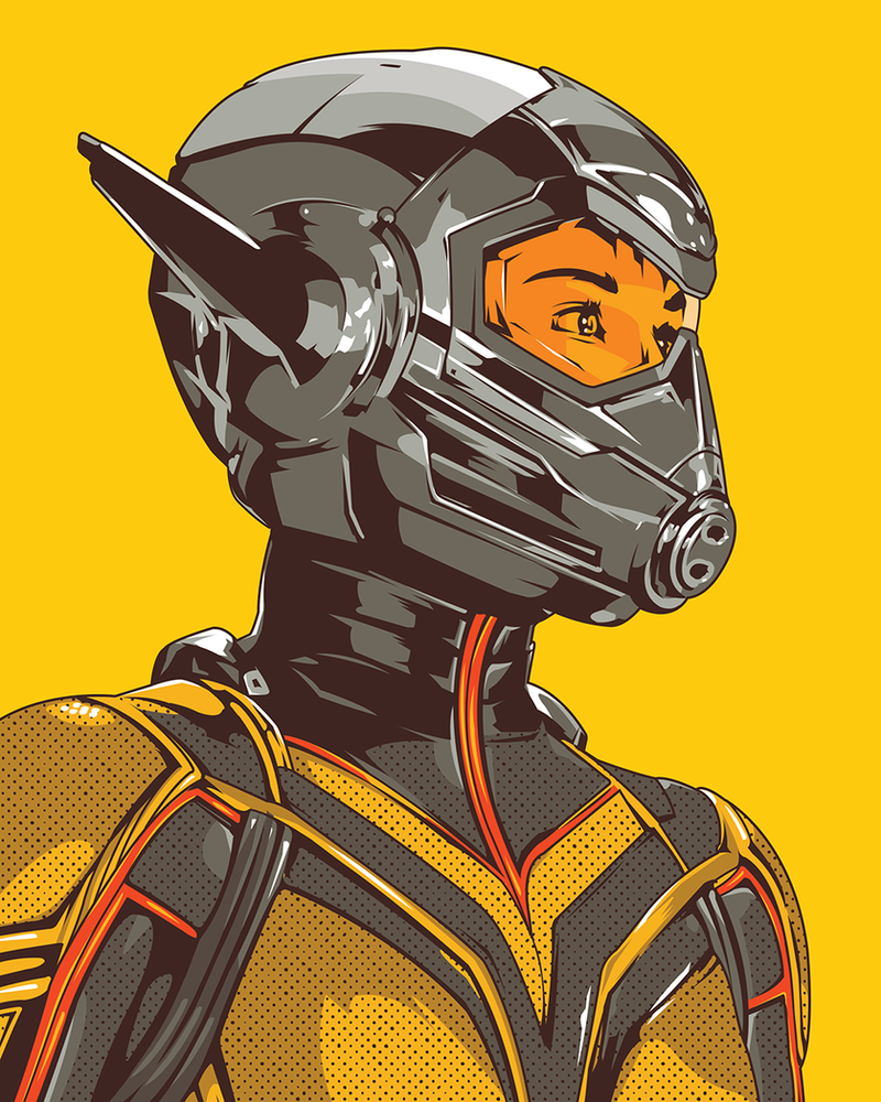 Ant Man and the Wasp by SuperScoundrel
