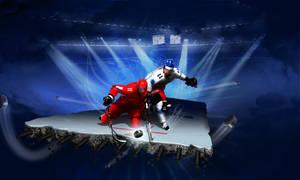 sport illustration icehockey