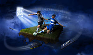 sport illustration soccer