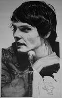 Gerard Way...nearly finished by RTyson