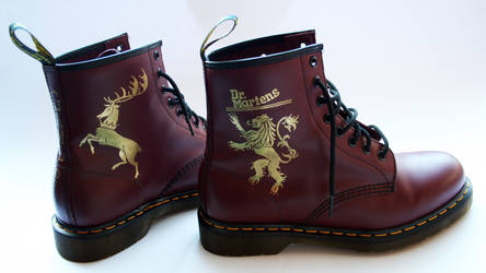 Game Of Thrones Dr Martens Boots