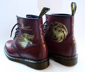 Game Of Thrones Dr Martens Boots by RTyson
