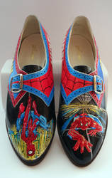 Spider-Man customised shoes